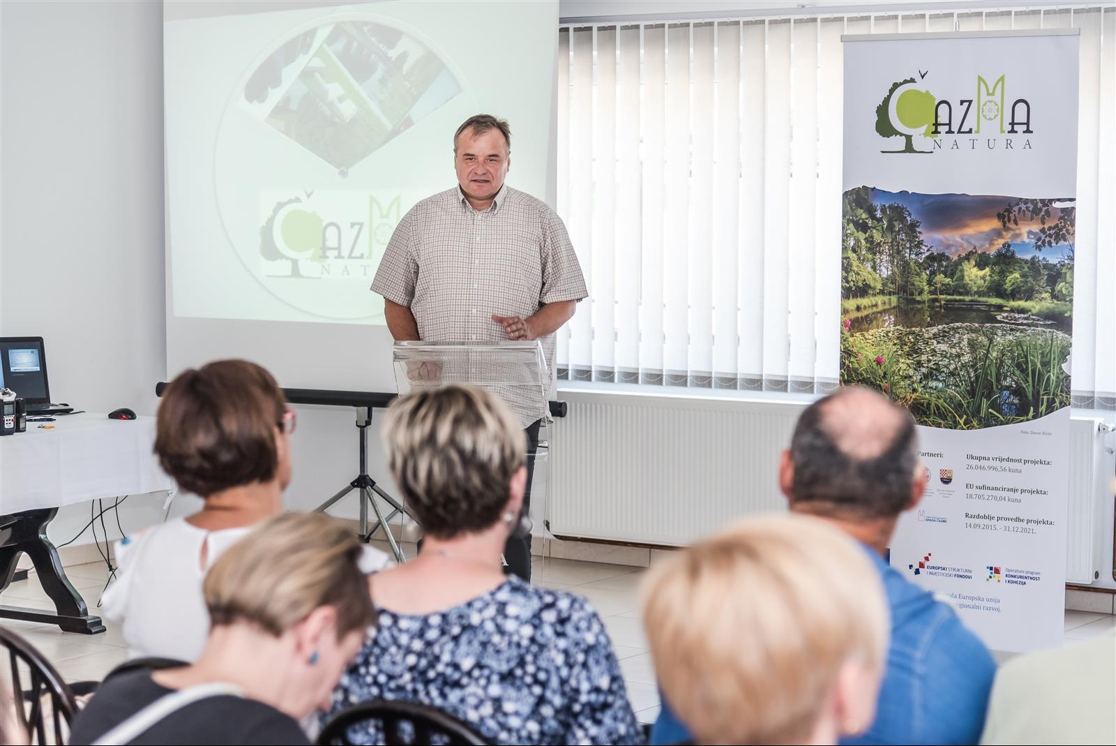 Konferencija za novinare projekta Čazma Natura